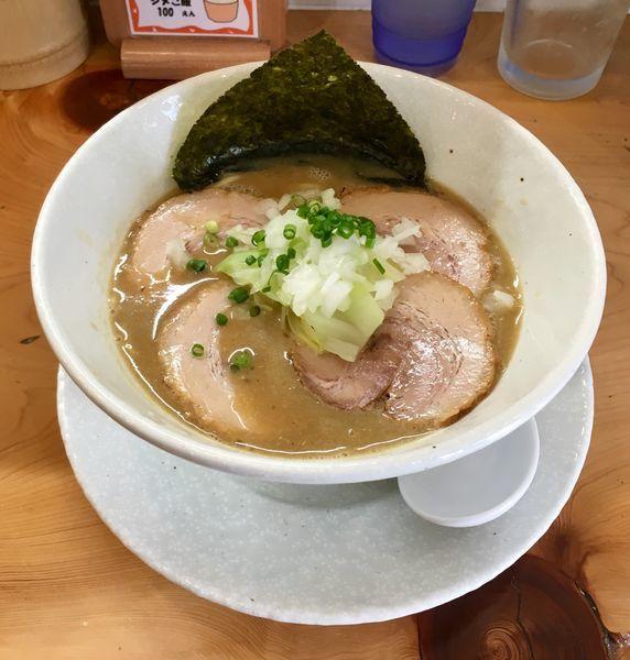 「肉濃厚魚介麺【限定】」@麺屋BISQの写真