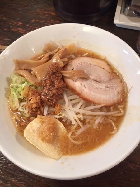 「味噌らーめん 800円」@らーめん東京食品 六本木店の写真