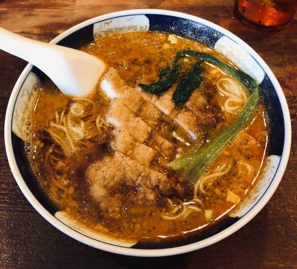 「ぱいこうだんだんめん(¥1000)」@支那麺 はしご 銀座八丁目店の写真