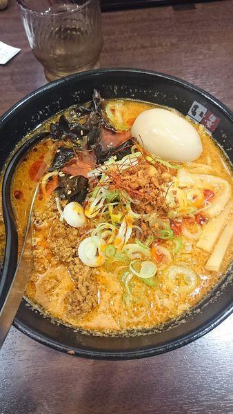 「四川激辛味噌拉麺」@麺家いろは 秋葉原店の写真