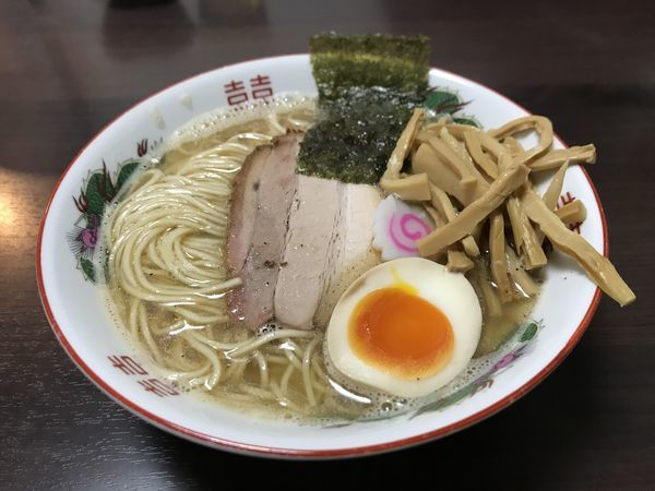 「追い煮干し中華そば【塩】」@麺座 かたぶつの写真