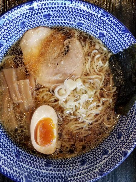 「醤油ラーメン」@横浜家系ラーメン クマガ家の写真