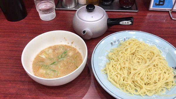 「魚介とんこつつけ麺」@東京ラーメン大番 上板橋店の写真