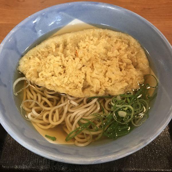 「天ぷら(¥340)」@阪急そば 茶屋町口店の写真