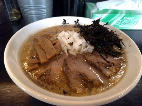 「背脂醤油」@らーめん 竜美 与野本町店の写真