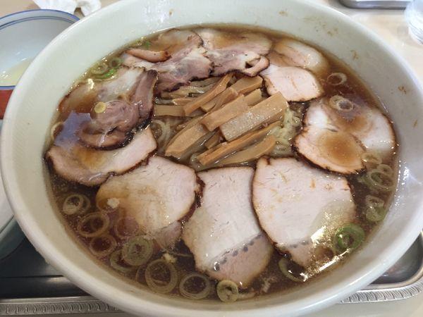 「チャーシュー麺(玉子)」@永福町大勝軒の写真