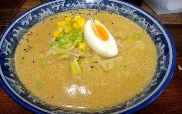「豆乳味噌ラーメン」@九州大分ラーメン 麺恋亭 中華街店の写真