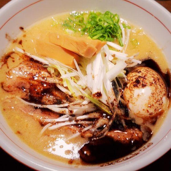 「味噌らあ麺 850円他」@麺や 虎徹の写真