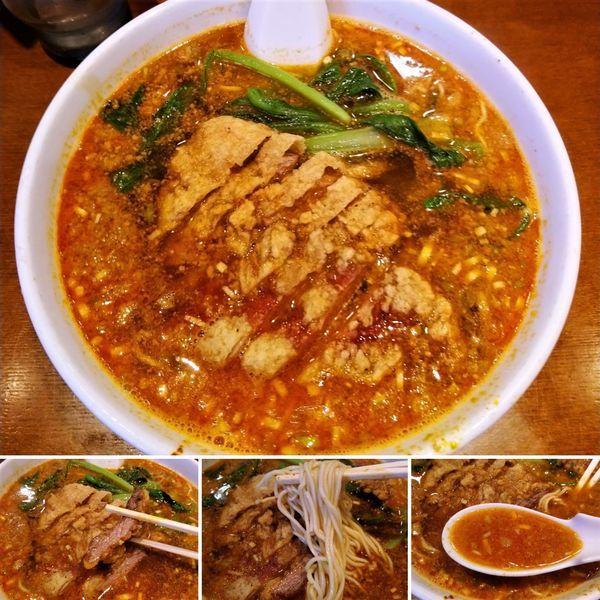 「排骨担々麺 980円」@らーめん 亜寿加の写真