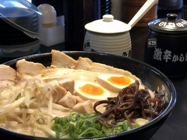 「しっかりした味」@らーめん雷蔵 新宮本店の写真