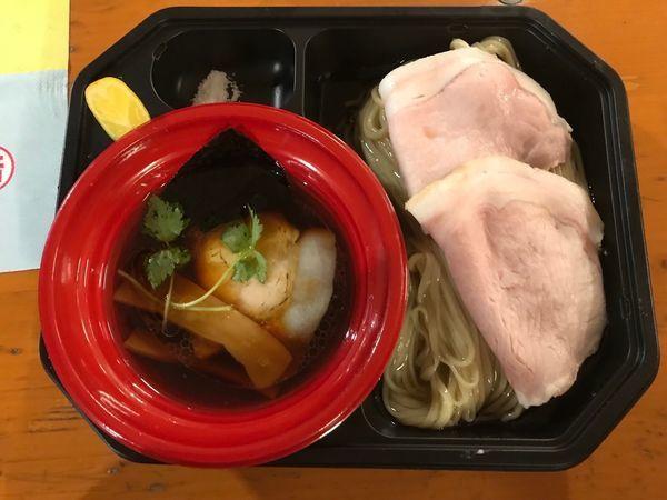 「濃密鶏青湯と濃密昆布水のつけ麺」@大つけ麺博  10周年特別企画 ラーメン日本一決定戦!!の写真