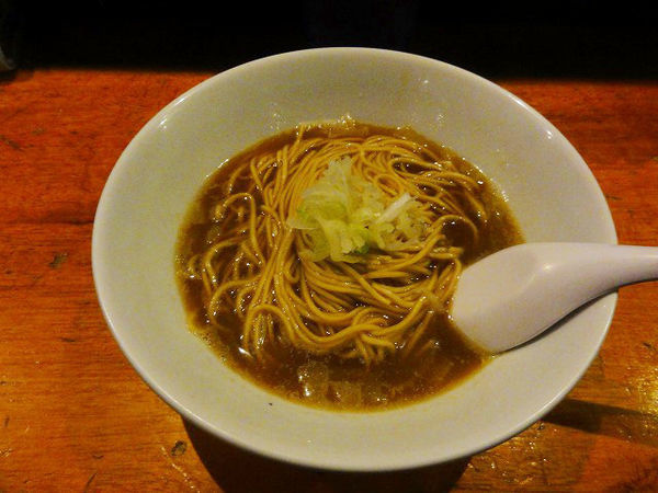 「比内鶏そば  600円」@自家製麺 伊藤の写真