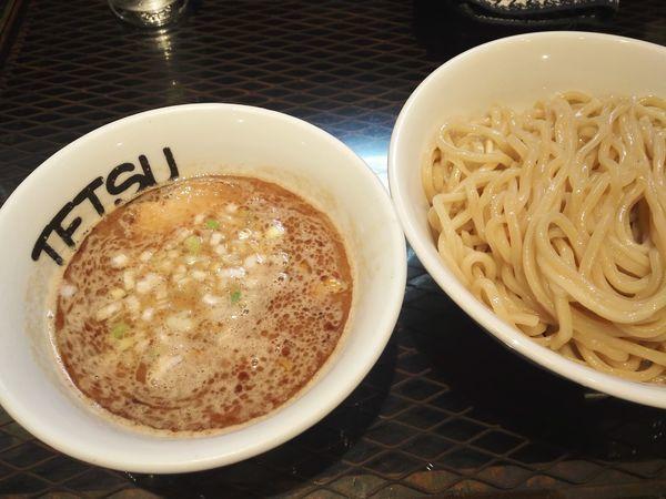 「つけめん 昼」@つけめんTETSU 横浜ランドマークプラザ店の写真