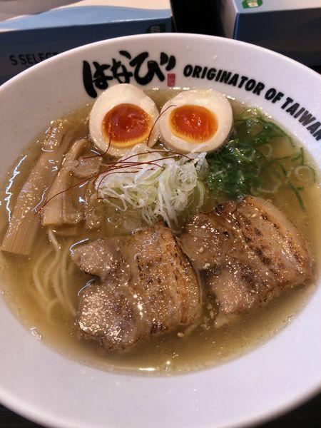 「味玉中華そば 塩 ¥850」@麺屋 はなび 高畑本店の写真