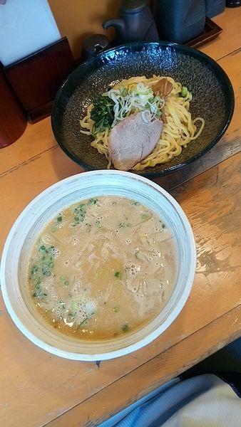 「味噌つけ麵850円+サービスライス」@らーめん 匠力の写真