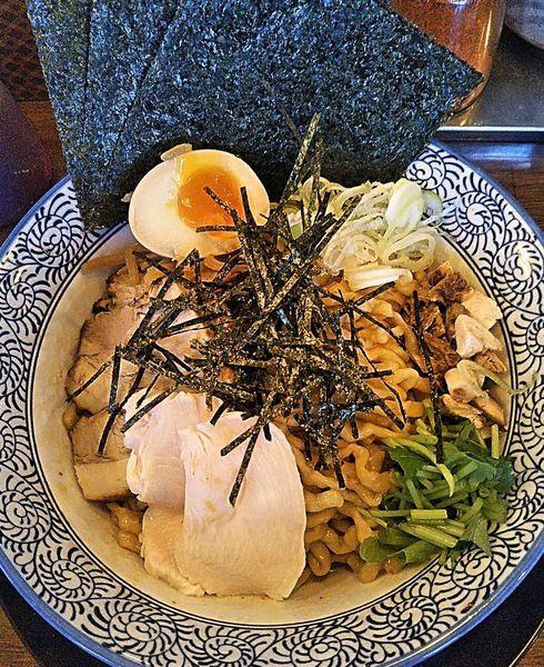 「特製煮干醤油のマゼソバ 950円」@千葉房総 麺のマルタイの写真