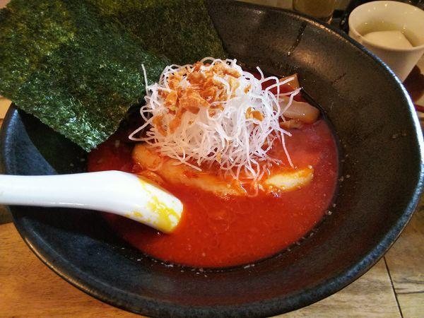 「麻辣麺(マーラーメン) +杏仁豆腐:クーポン券」@麺飯店 マラマラの写真