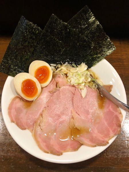 「鶏醤油らぁめん(特製盛り)」@Soupmenの写真