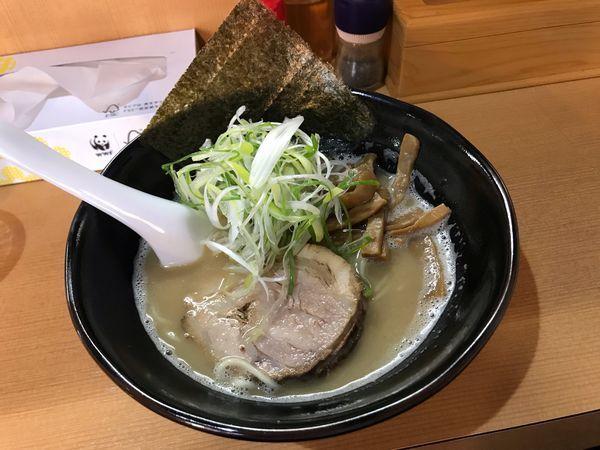 「こってりらーめん※閉店セール700円」@麺家うえのの写真