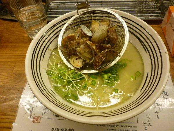 「アサリバターラーメン」@堂の浦 駅前店の写真