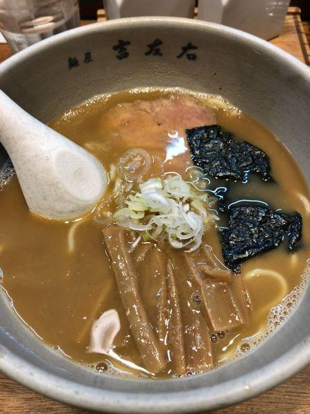 「らーめん(少なめ)¥780」@麺屋吉左右の写真