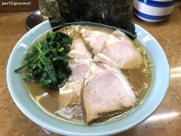 「チャーシュー麺 (950円)」@ラーメン西山家 君津店の写真