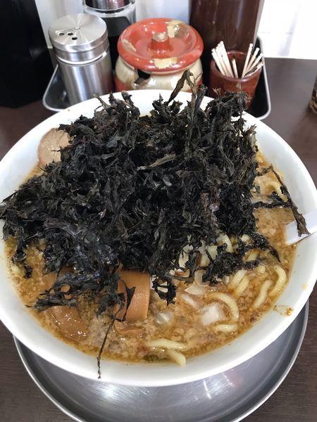 「岩のりラーメン(1000円)」@新潟らーめん こばやしの写真