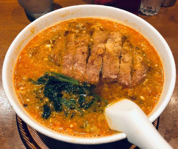 「排骨担々麺(¥980)」@らーめん 亜寿加の写真