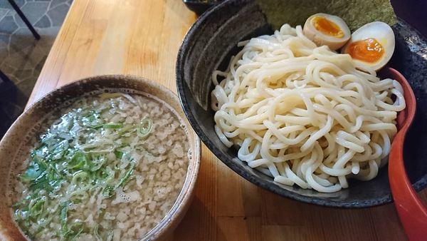 「つけめん鶏和牛+味玉(880円)」@麺屋 八頭龍 戸田店の写真