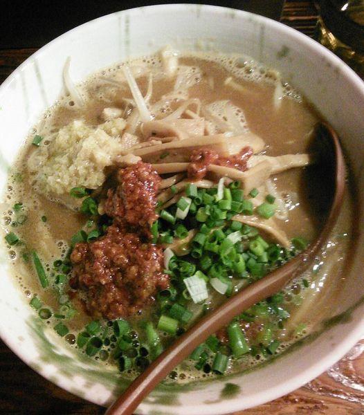 「【限定】ピリ辛味噌ラーメン四川風 930円」@G麺7の写真