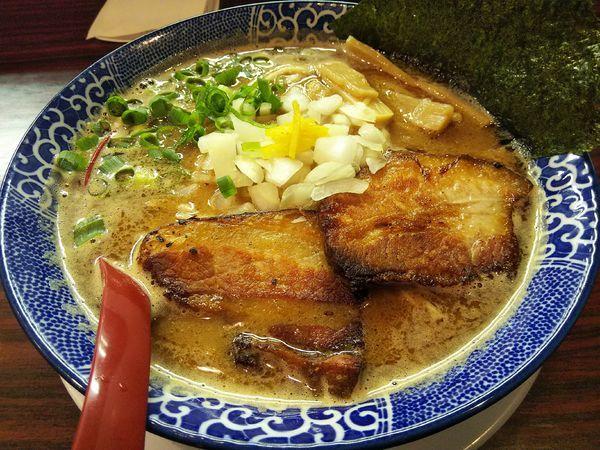 「【限定】秋刀魚節コク搾り Ver2 (並盛)」@煮干しらあめん 燕黒の写真