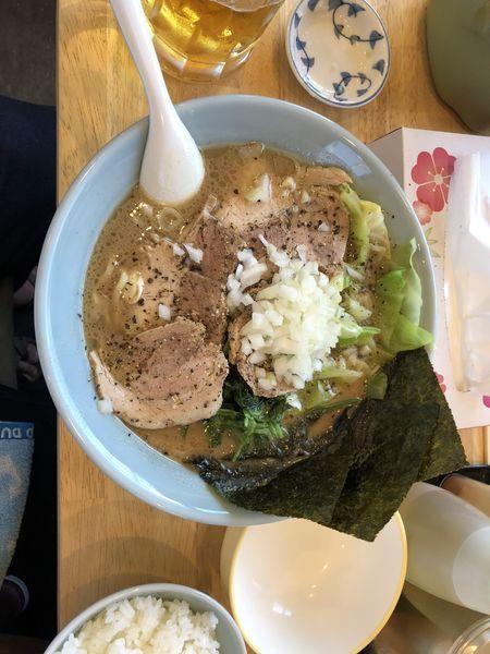 「チャーシュー麺濃い目」@横浜家系らーめん 玉家の写真