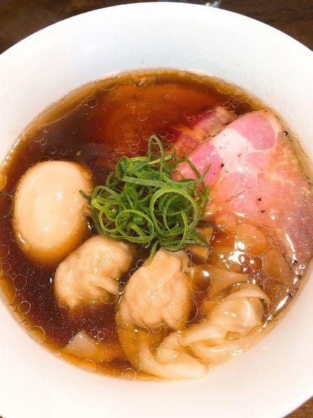「特製醤油拉麺 ¥1100」@創作麺工房 鳴龍の写真
