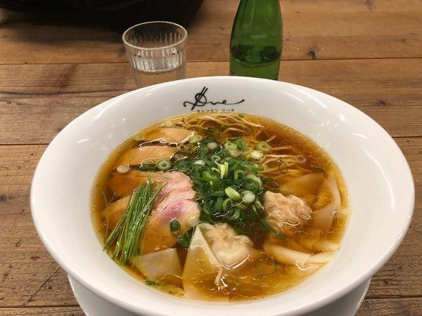 「醤油らぁ麺1000円」@Ramen ドゥエ Edo Japanの写真