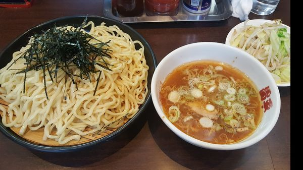 「つけ麺 温野菜 ¥750」@昌平ラーメン 成子坂店の写真