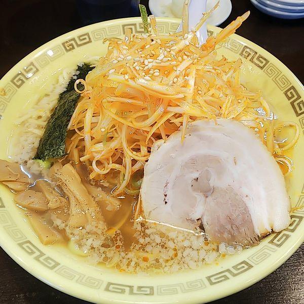 「ねぎ麺(辛ねぎ太麺)」@江川亭 小金井本店の写真