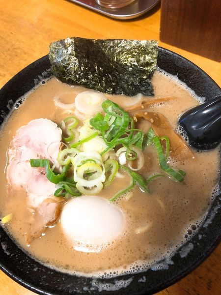 「鶏白湯味玉麺 ¥840」@気むずかし家の写真