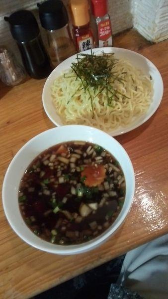 「醤油つけ麺850円」@Noodle BAR esの写真