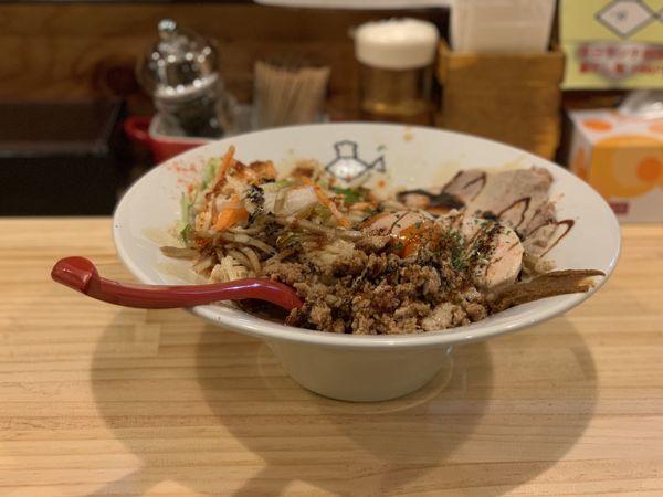 「汁なし鯛担麺」@君に会い鯛の写真