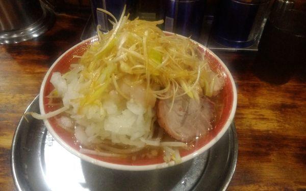 「小ラーメン ネギ(100円)」@麺でる 多摩センター店の写真