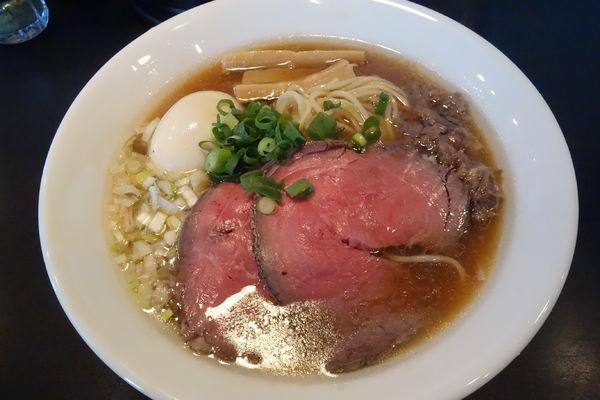 「特製牛そば」@麺牛 ひろせの写真