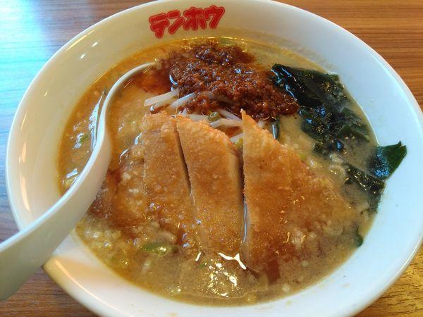 「肉揚げタンタンメン¥740」@テンホウ 梓川店の写真
