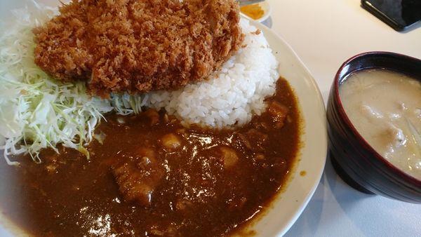 「カツカレー(1500円)」@とんかつ檍 浅草橋支店の写真