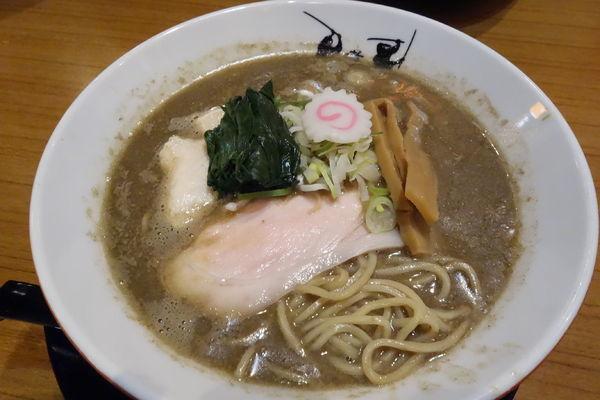 「【数量限定】濁り煮干しソバ」@津軽煮干中華蕎麦 サムライブギーの写真