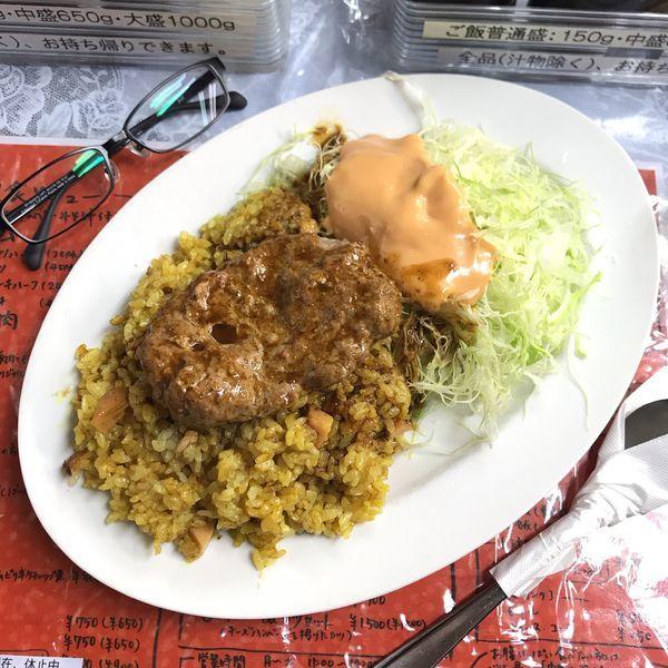 「ドライカレーハンバーグ」@レストラン ばーくの写真