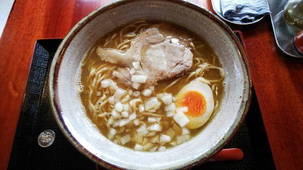「煮干ラーメン」@麺旨のほんわかの写真