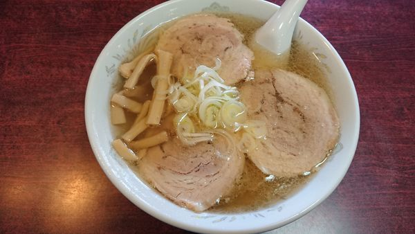 「チャーシュー麺」@蓬来軒 千葉店の写真