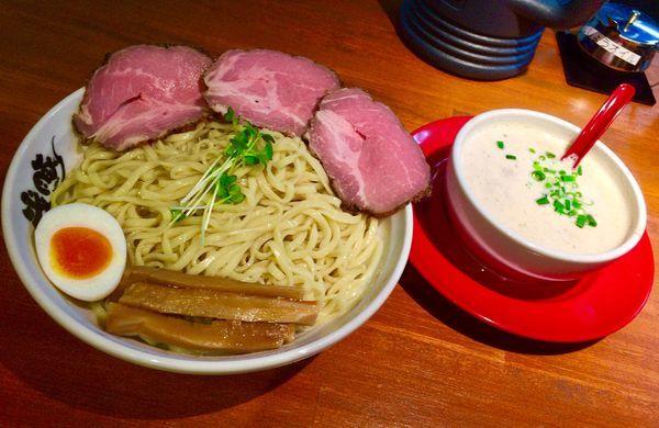 「ナイスつけ麺 300g」@うちのラーメン 我豚の写真
