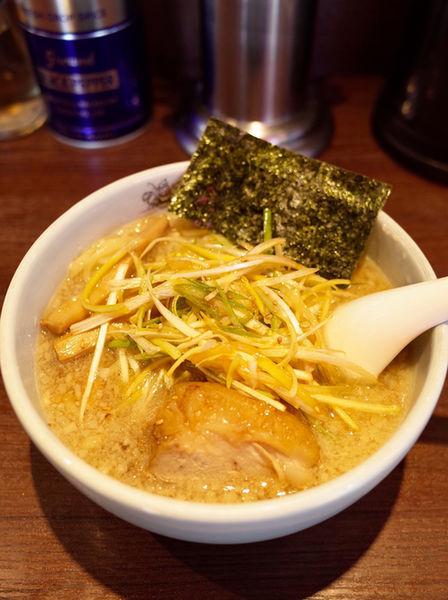 「ねぎら〜麺…800円」@二九八家 いわせの写真