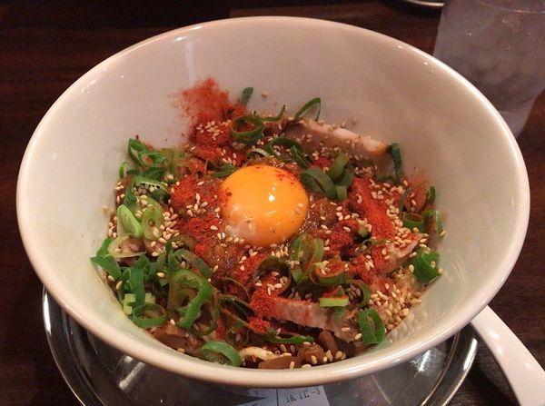 「担担まぜそば(950円)」@厳選丸鶏出汁 麺 KOBAの写真